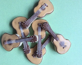Guitar Sugar Cookies (1 Dozen)