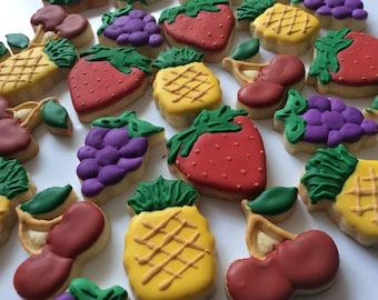Mini Assorted Fruit Cookies (48 cookies)