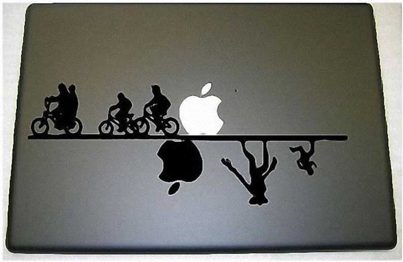 Stranger Things Upside Down Laptop Apple Macbook Vinyl Decal