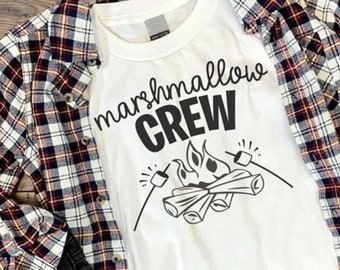 Marshmallow Crew Camping Shirt