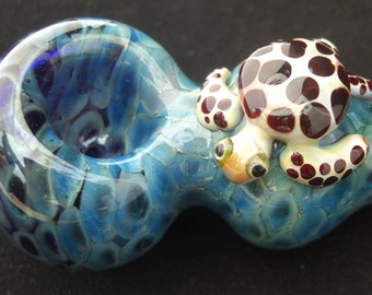 Nature Inspired Glass Pipes and Pendants by PurtyGlass on Etsy