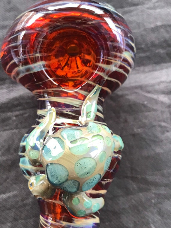 Glass Pipe  Bluemoon Turtles