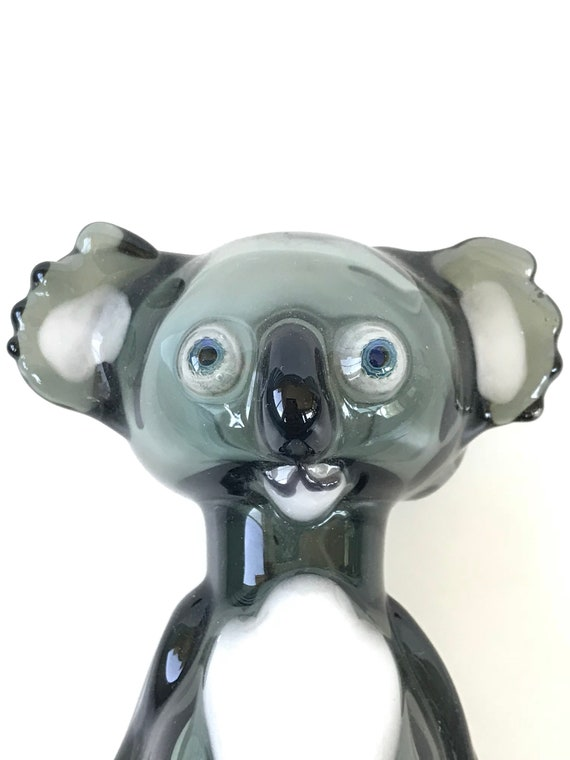 Glass Tobacco Pipe Koala!