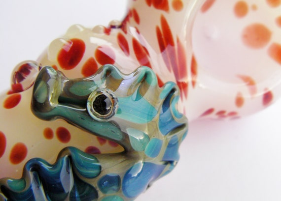 Glass Pipe Seahorse