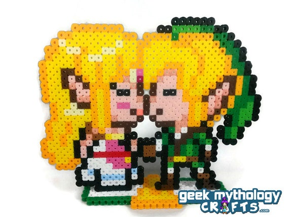 Zelda Mit Schwert Und Schild Vorlage Als