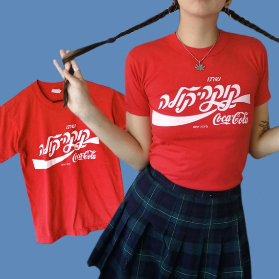 Coca Cola Kitschy Red Graphic Tee