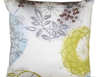 4374bb3468040d Villa Nova Kabuki Charcoal & Dijon Cushion Cover