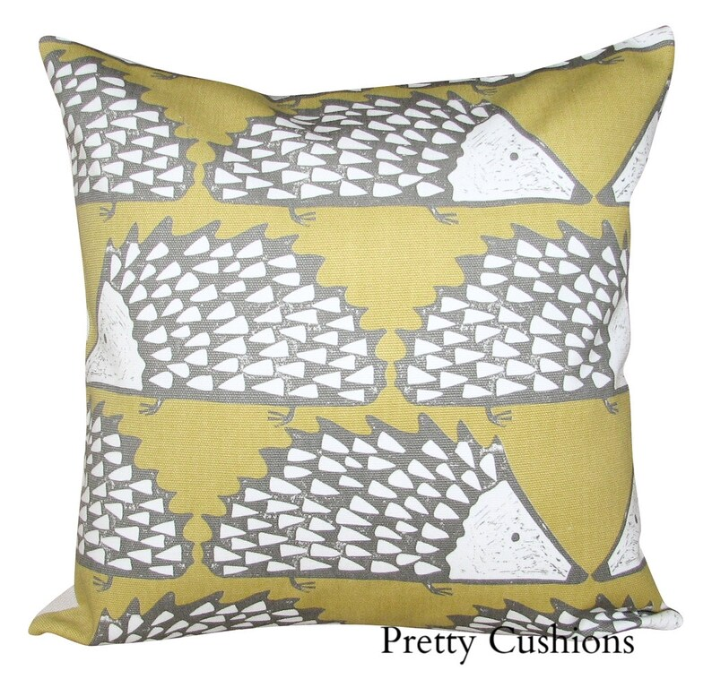 Scion Spike Levande Honey Yellow Cushion Cover