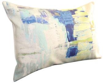 Prestigious Textiles Aura Indigo Bolster Cushion Cover