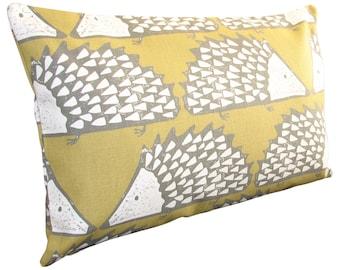 Scion Spike Hedgehog Honey Bolster Cushion Cover