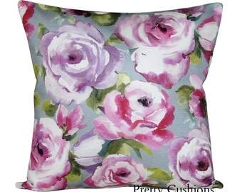 Voyage Martha Raspberry & Amethyst Cushion Cover