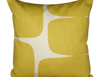 Scion Lohko Honey & Paper Abstract Cushion Cover