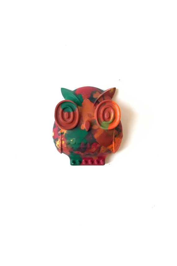 Perfect Children/'s Gift//Party Bags Owl Shaped Crayons