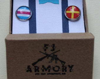 Nautical Flag Cufflinks