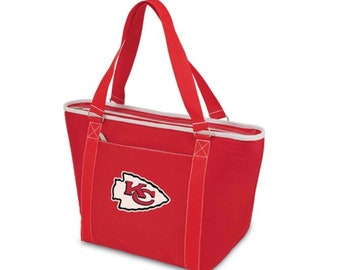 KC Chiefs Insulated Tote, Leaque Licensed Kansas City Chiefs, KC Chiefs Tote Bag