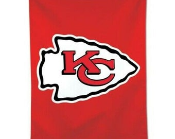 Super Bowl Champions, Licensed Kansas City Chiefs Vertical Flag