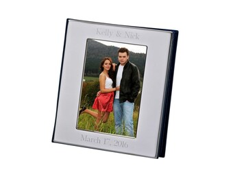 Silver Photo Album Personalized Engraved Free