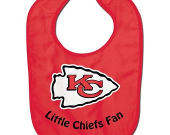 Kansas City Officially licensed baby bib