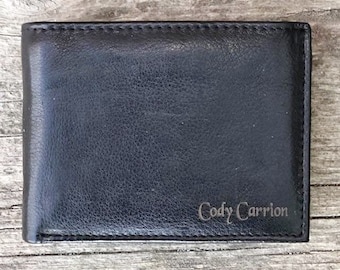 Personalized leather Wallet, Personalized wallet, personalized wallet for men, personalized mens wallet, mens leather wallet,deluxe leather