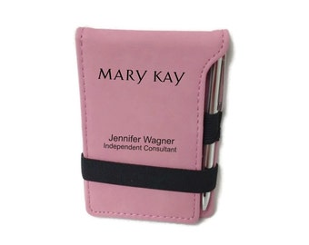 Mary Kay Pink Personalized Jot Pad With Pen