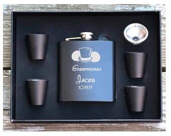 Disney Inspired Flask, Disney Wedding, Disney Groomsman Gift, Disney Best Man Gift, Disney Wedding Theme, Disney Flask
