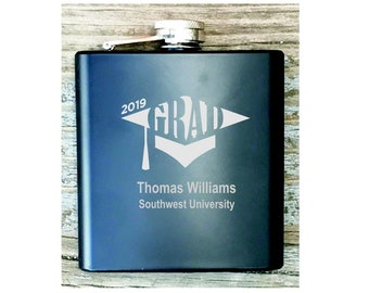 Graduation Class of 2019 Flask Personalized Graduate Gift