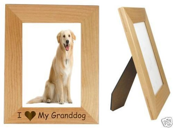 I Love My Granddog 4 X 6 Picture Frame Vertical Etsy