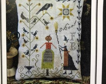 Fancey Blackett by Pineberry Lane / SHOO / cross stitch chart / pattern only