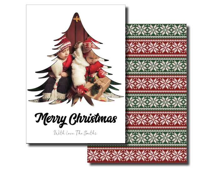 Merry Christmas   Personalized   Holiday Cards