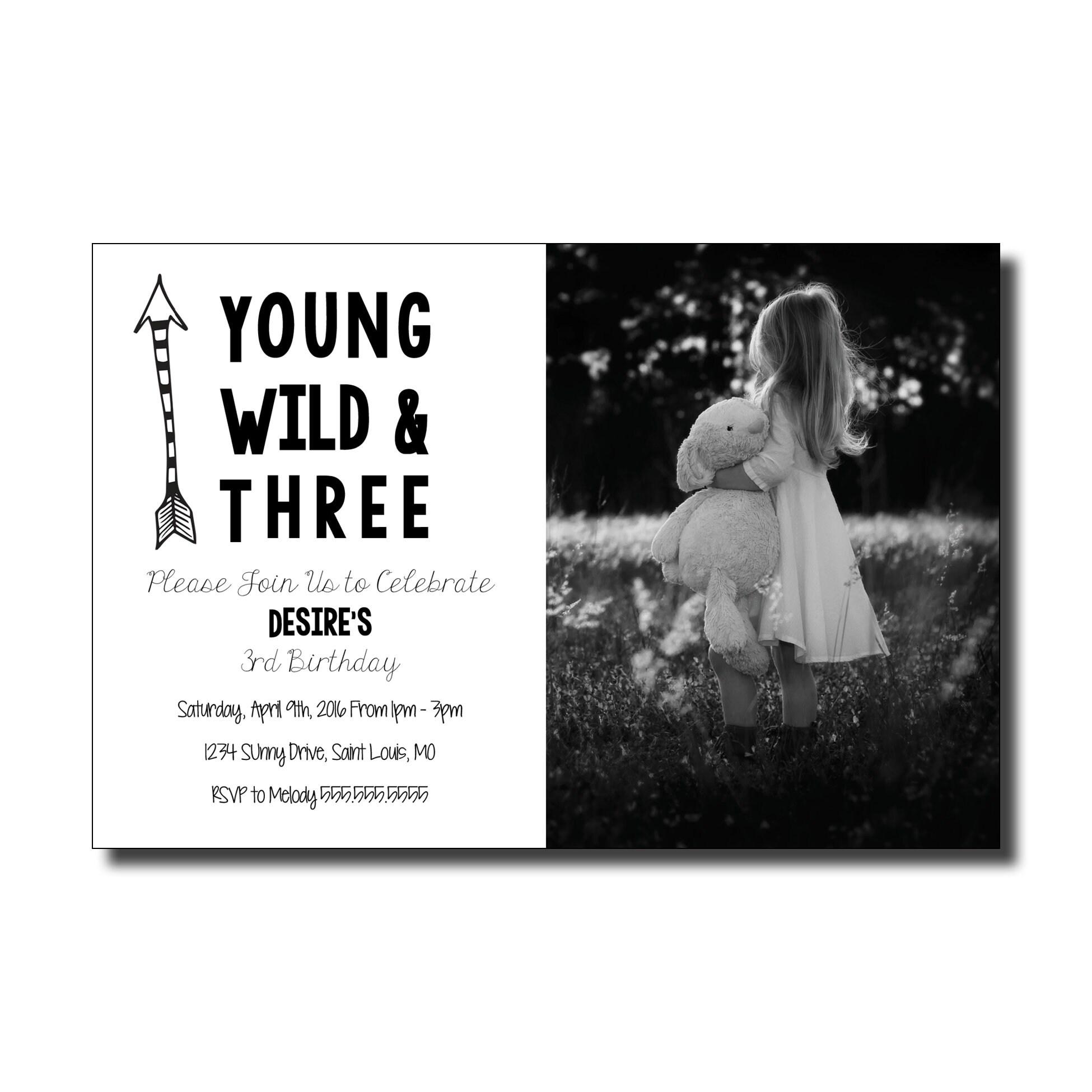 Printed Birthday Invitations Gallery Photo