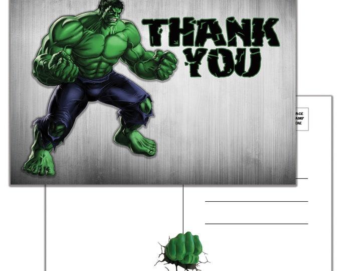 Incredible Hulk, Thank You Postcard