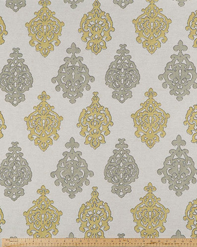Premier Prints-Scott Living-Property Brothers-MILLERS TALE-Relection Belgian-Or Color Choice-54 wide-Fabric by the yard-decorator fabric