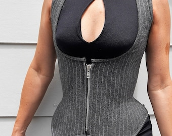318fa65678 Corset Pattern! The waistcoat-inspired under-bust corset in sizes UK 10-20  (US 6-16)