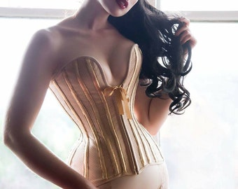 Corset Pattern! Lucille - a modern 16 panel over-bust 'plunge' corset pattern size (UK) 8-20, (US) 4-16