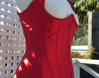 Corset Pattern! Angie - a modern 12 panel under-bust corset bodice pattern size (UK) 10-20, (US) 6-16