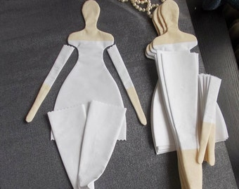 Tilda Doll BODY-handmade-Cloth doll body blank unstuffed presewn-ready to stuff- 25 inches tall-  collectible dolls- tildas- cloth doll body