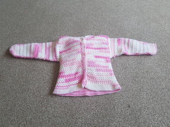 Babystrickjacke häkeln Baby Strickjacke Baby-Kleidung mit | Etsy