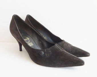 068d15c2c65d4 60s suede shoes | Etsy