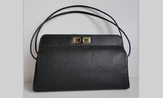 Black 40s/50s Vintage Handbag