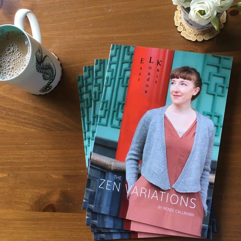 The Zen Variations knitting pattern booklet image 0