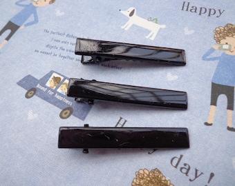 25 pc 1.75 inch 45 mm high quality alligator clips w teeth hair accessory bridal flower clip