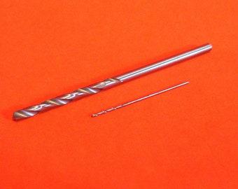 Single micro mini drill bits 0.3mm - 2mm High quality jewellery making HSS  metric drills bits