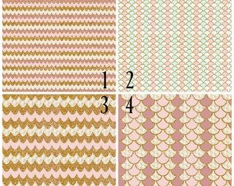 Pattern Vinyl, Summer Sand Mint, HTV, Adhesive Vinyl, Outdoor 651 Vinyl, HTV, Heat Transfer Vinyl, Iron On Vinyl, Rose, Pink, Teal, Gold