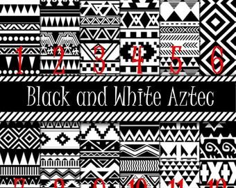 Pattern Vinyl, Black and White Aztec Vinyl, Mexican, Aztec, Arrows, Adhesive, Outdoor 651 Vinyl, HTV, Heat Transfer Vinyl, Iron On Vinyl