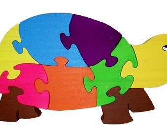 Wooden Tortoise Puzzle, turtle, wooden puzzles for kids