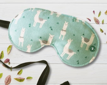 Lovely Llamas Sleep Mask