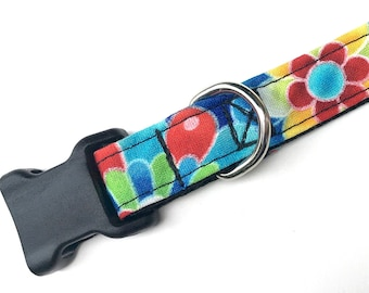 Colorful Small Dog Collar, Dog collar with Bright Colors for your small female dog!