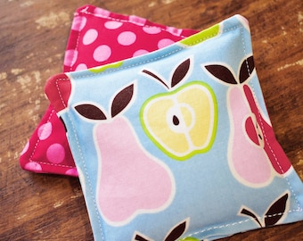 Fruity Dots Vanilla Scented Flax Seed Handwarmers