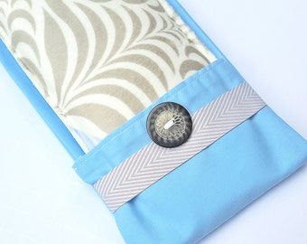 Snuggle Soft Flax Seed Eye Pillow with Washable Flax Sack Cover, you choose aromatherapy scent!