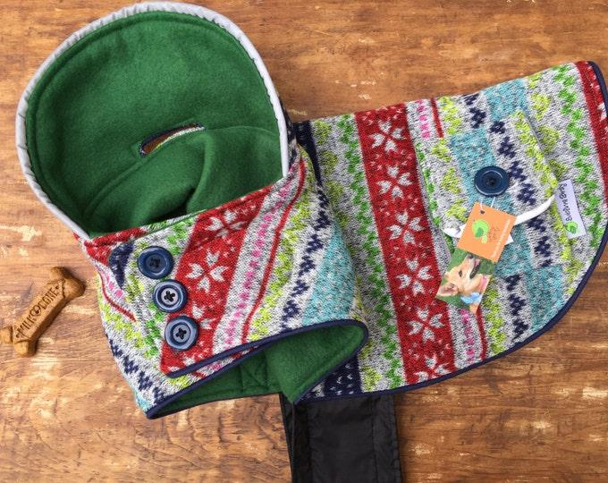 Featured listing image: Warm double fleece dog coat